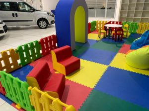 spazio concessionario kids torino