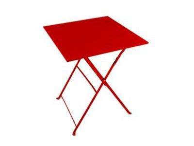 tavoli noleggio rosso